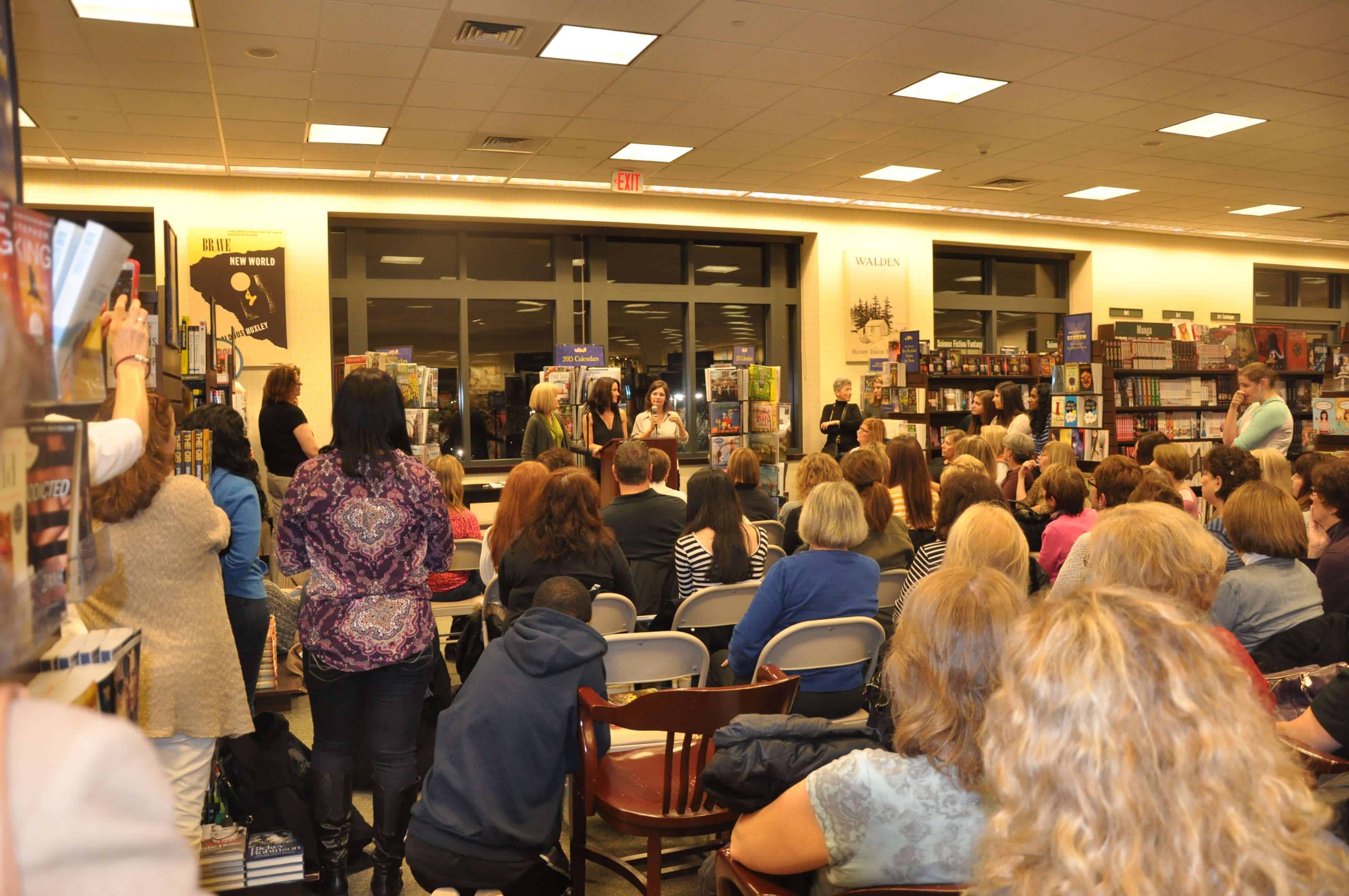 B&N back crowd shot
