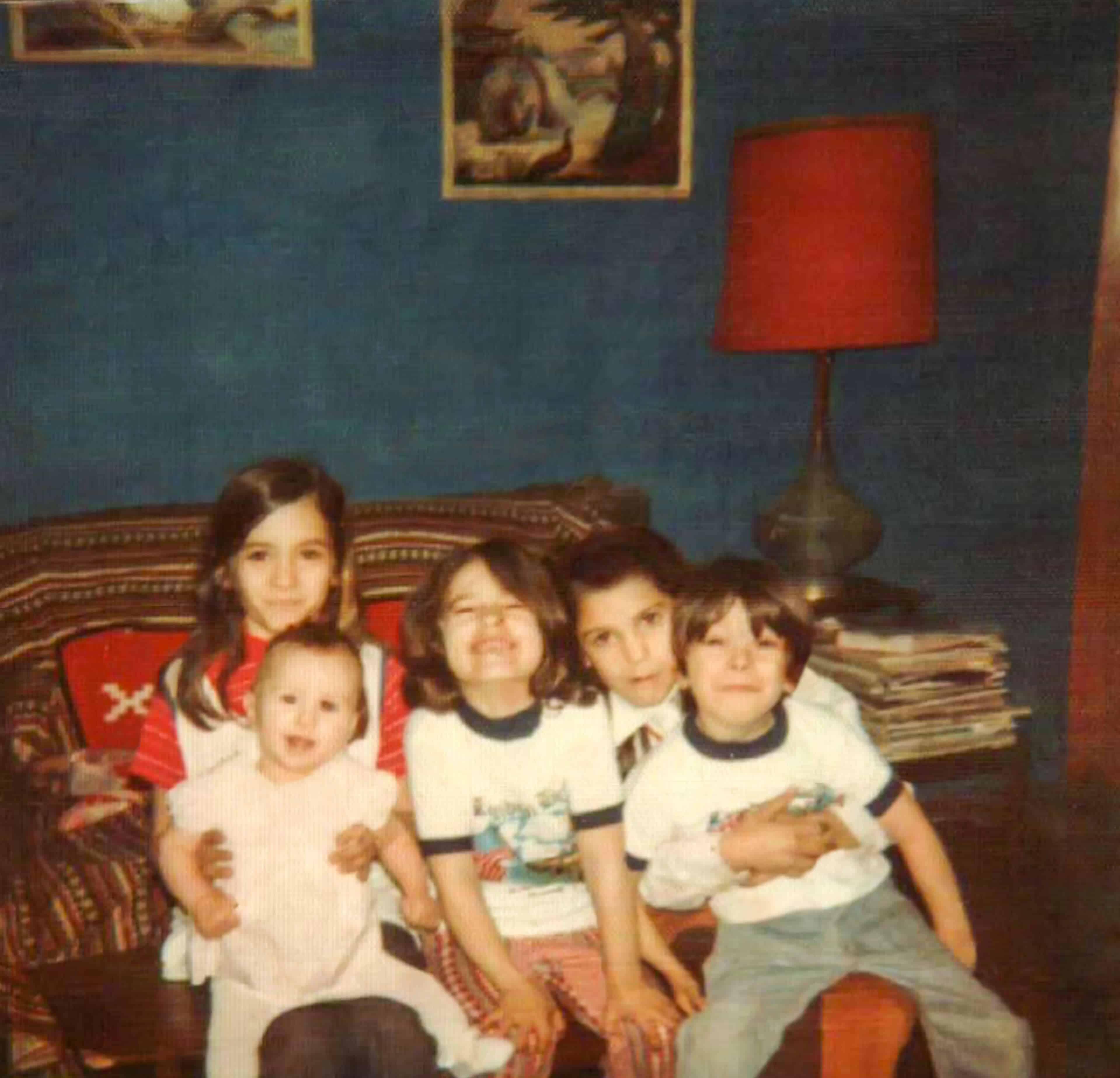 Five kids 1973