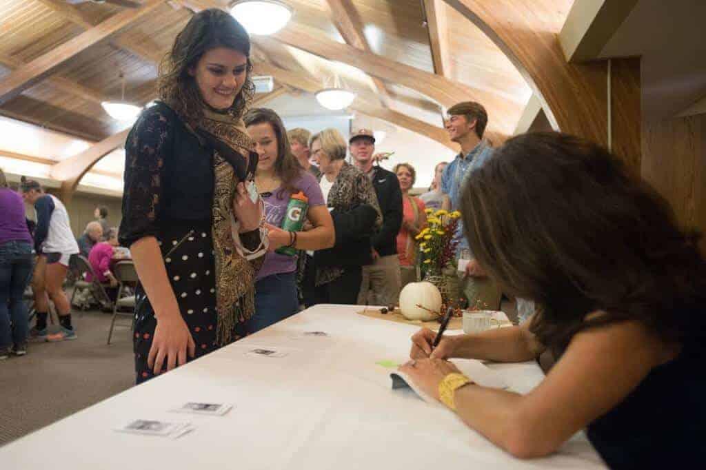 Hesston Book Signing
